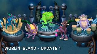 Download My Singing Monsters - Wublin Island (Full Songs) (Update 1-14) (Evolution) Video