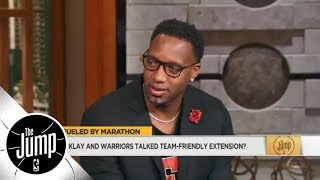 Download Tracy McGrady: Klay Thompson 'doing the right thing' with team-friendly extension | The Jump | ESPN Video