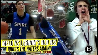 Download LaMelo Ball Quiets The HATERS vs LeBron's Old High School! Rocket Watts GOES OFF! Video