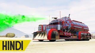 Download Buying GREEN FlameThrower WALLA TRUCK in GTA 5 Online - HINDI/URDU Video