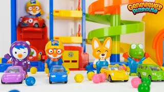 Download Best Toddler Learning Video for Kids Learn Colors & Counting with Pororo the Little Penguin Toy Cars Video