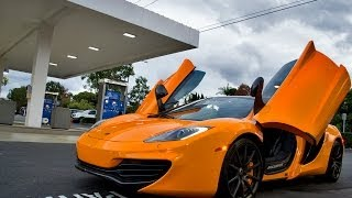 Download Getting Picked Up From School In A McLaren Video