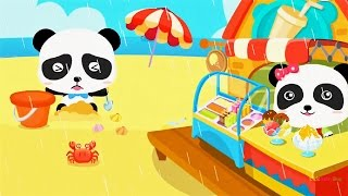 Download Baby Panda Learn about Natural Seasons, Fun Educational Game for children Video