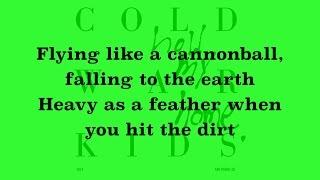 Download Cold War Kids - First (Lyrics) Video