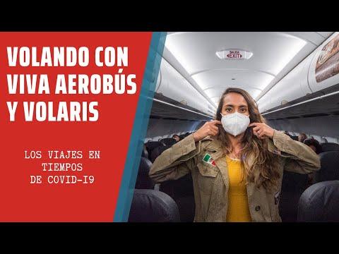 Así es VOLAR en AEROLÍNEAS DE BAJO COSTO en TIEMPOS de COVID-19 | VIVA AEROBÚS Y VOLARIS