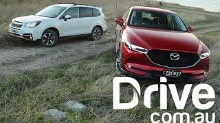 Download Mazda CX-5 diesel v Subaru Forester Off Road Comparison | Drive.au Video