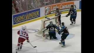 Download Wings score 7 in Game 7 vs Colorado (2002) Video