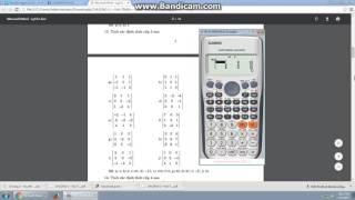 Download Tính A mũ, định thức det A, ma trận khả nghịch (nghịch đảo) Video