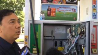 Download Credit Card fraud at Shell gas station on Union Avenue Video