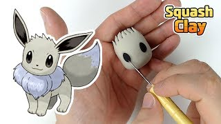 Download Pokémon Clay art - Shiny Eevee Normal type Pokémon Video