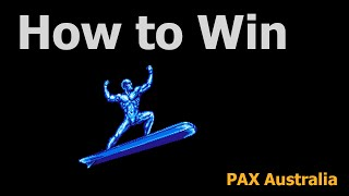 Download PAX Australia 2014 Panel - How to Win at Games Video