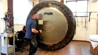 Download Paiste - 80″ Symphonic Gong played by Paiste Gong Master Sven Video
