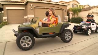 Download Sidewalk Cops - Kid Trax Dodge Charger Police Car Video