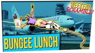 Download WS: Woman Left Asleep on Airplane || Bungee Lunch || Toilet Tornado (ft. Cris Sosa) Video