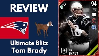 Download ULTIMATE BLITZ TOM BRADY REVIEW - MADDEN ULTIMATE TEAM 17 Video