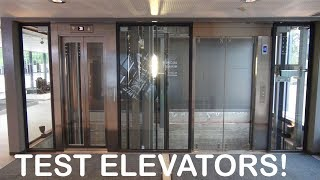 Download Awesome KONE Monospace elevators at KONE High Rise Laboratory Tytyri Finland (test tower) Video