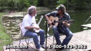 Download Bluegrass Jam - Nine Pound Hammer and I'll Fly Away on Huber Banjo and Martin Guitar by JDMC Staff Video