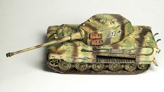 Download Revell TIGER II Ausf.B 1:72 model kit build Video