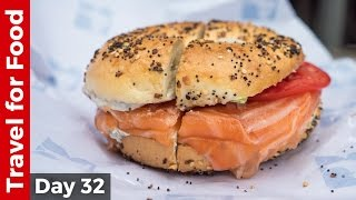 Download Salmon Bagel at Russ & Daughters and Amazing Tacos at Los Tacos No. 1 in NYC Video