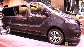 Download 2018 Renault Trafic Passenger Van - Exterior and Interior Walkaround - 2017 Frankfurt Auto Show Video