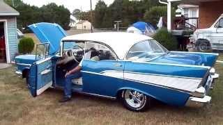 Download 1957 Chevy BelAir 4 Door Hard Top 9/22/2010 Video