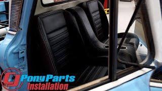 Download TMI Chevrolet C10 Bucket Seats & Door Panel 1960-1987 Installation Video