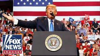 Download President Trump holds 'MAGA' rally in Tennessee Video