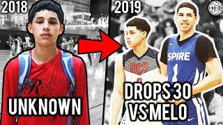 Download He Went From Unknown Hooper To Dropping 30 VS LAMELO BALL Playing On Julian Newman Team! Video