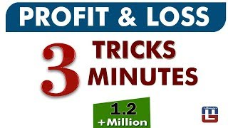 Download PROFIT & LOSS | 3 TRICKS | 3 MINUTES | MATHS | 2018 Video