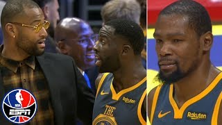Download Kevin Durant, Draymond Green get heated at end of regulation vs. Clippers | NBA on ESPN Video