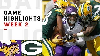 Download Vikings vs. Packers Week 2 Highlights | NFL 2018 Video