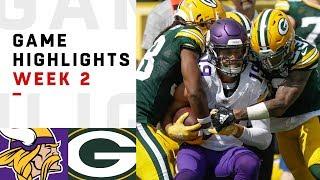 Download Vikings vs. Packers Week 2 Highlights | NFL 2018 Video