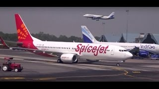 Download Grand Landing of Indigo at Indira Gandhi International Airport, Delhi & Various Aircrafts On Runway Video