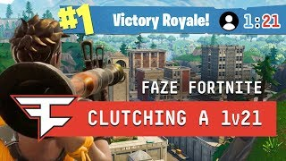 Download CLUTCHING A 1v21 IN TILTED TOWERS?! - Fortnite: Battle Royale Video