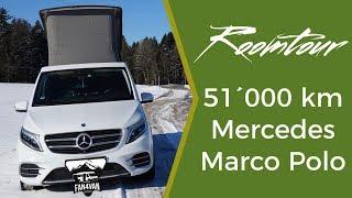 Download Mercedes Marco Polo Roomtour - 51´000 km Erfahrungs-Check mit V-Klasse Camper Video