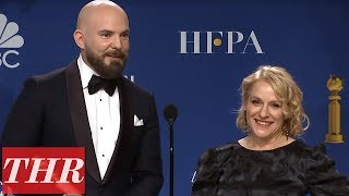 Download Golden Globes Winners for 'Missing Link' Full Press Room Speeches | THR Video