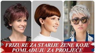 Download Lijepe frizure za starije žene koje pomlađuju za proljeće 2018 Video