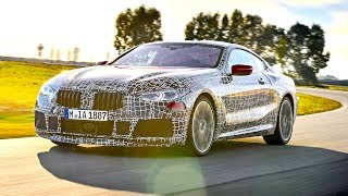 Download New BMW 8 Series Coupe Severe High Speed Testing Italy CARJAM TV Video
