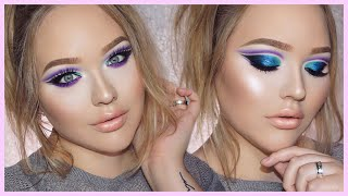 Download ZENDAYA Edgy Double Cut-Crease Makeup Tutorial Video