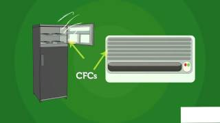 Download AIR POLLUTION - OZONE DEPLETION BY CFC GASES AND IT'S EFFECTS ON THE ENVIRONMENT Video