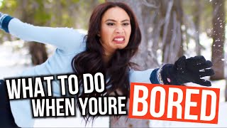 Download WHAT TO DO WHEN YOU'RE BORED! Winter Edition | Mylifeaseva Video