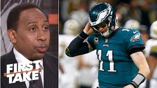 Download Eagles were 'emasculated' by the Saints on Sunday – Stephen A. | First Take Video