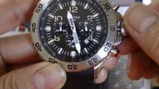Download REVIEW: NAUTICA N14536G CHRONOGRAPH LIGHT DIVING MEN'S WATCH Video