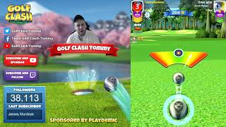 Download Golf Clash tips, Playthrough, Hole 1-9 - EXPERT - TOURNAMENT WIND! Easter Open Tournament! Video