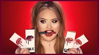 Download KYLIE JENNER LIP KITS   First Impressions & Swatches Video