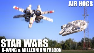 Download Star Wars X-Wing & Millennium Falcon by Air Hogs | Flite Test Video