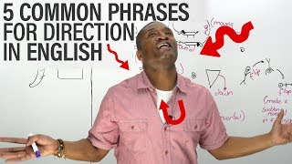 Download 5 Common Direction Phrases in English: UPSIDE DOWN, INSIDE OUT... Video