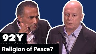 Download Christopher Hitchens and Tariq Ramadan Debate: Is Islam a Religion of Peace? Video