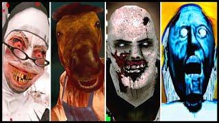 Download Evil Nun Vs Psychopath Hunt Vs Granny Vs HeadHorse Video
