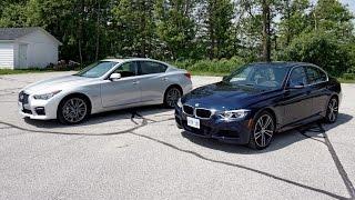 Download Faceoff: BMW 340i vs. Infiniti Q50 Video